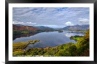 Derwent Water from Surprise View, Framed Mounted Print