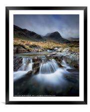 Deepdale Beck and Greenhow End, Framed Mounted Print