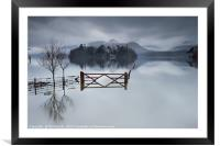 Crow Park Reflections, Framed Mounted Print
