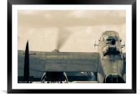 Rolling Out - Lancaster Bomber, Framed Mounted Print