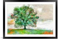 The Mighty Oak, Framed Mounted Print