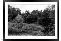 Guys Cliffe, Framed Mounted Print