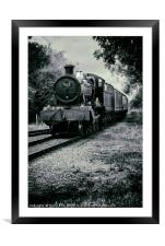 7820 on route, Framed Mounted Print