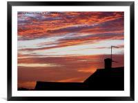 The Hand of God 3/8, Framed Mounted Print