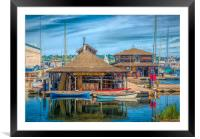 Center for Wooden Boats, Framed Mounted Print