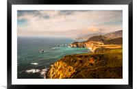 California Pacific Coast Road Trip 0578, Framed Mounted Print