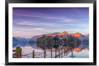 Crow Park in the Winter, Framed Mounted Print
