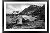 Tryfan Mountain, Framed Mounted Print