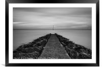 Incoming Tide, Framed Mounted Print