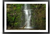 Force Against Nature #4, Framed Mounted Print