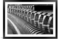 Sheffield Fountains, Framed Mounted Print