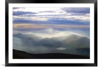 Snowdon View, Framed Mounted Print