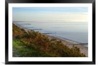 Sea view, Framed Mounted Print