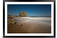 Sunny day Marsden Grotto, Framed Mounted Print