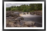Low Force Waterfalls, Framed Mounted Print