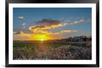 Cley next the Sea  Norfolk, Framed Mounted Print