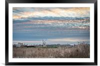Cley Village and Windmill, Framed Mounted Print
