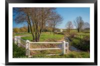 Road to the Bintree Mill, Framed Mounted Print