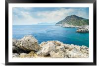 Ladiko Bay, Framed Mounted Print