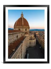 Florence Cathedral, Framed Mounted Print