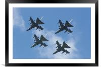 Fighting Formation, Framed Mounted Print