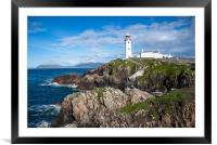 Fanad Head lighthouse, Framed Mounted Print