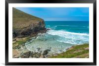 Chapel Porth, Framed Mounted Print