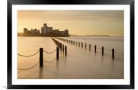 Knightstone Causeway, Framed Mounted Print