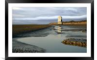 Low Lighthouse at Burnham, Framed Mounted Print
