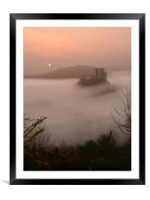 Island in the Mist, Framed Mounted Print