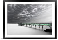 Clevedon Clouds, Framed Mounted Print