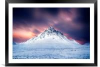 Stob Dearg No.3, Framed Mounted Print
