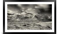 Buachaille Etive Mor No.6, Framed Mounted Print