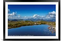 The Big Ben from Buachaillie Etive Mor, Framed Mounted Print