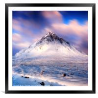 Stob Dearg No.6, Framed Mounted Print