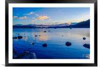 Evening Approaches, Framed Mounted Print