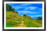 The Quiraing, Framed Mounted Print