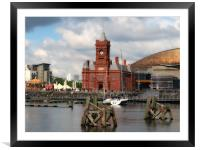 The Pierhead Building                             , Framed Mounted Print