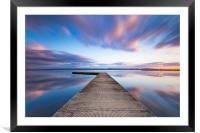 West Kirby sunset, Framed Mounted Print