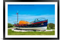 A Lovely restored Lifeboat ,Etoile du Nord (Star o, Framed Mounted Print