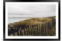 Wild seascape in the coast of Brittany, Framed Mounted Print