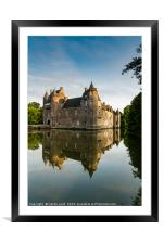 Chateau de Trecesson 3, Framed Mounted Print