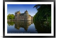 Chateau de Trecesson 2, Framed Mounted Print