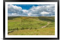 The Hudes Hope Valley, Teesdale (3), Framed Mounted Print