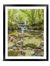 Bowlees Beck and Summerhill Force, Teesdale, Framed Mounted Print