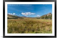 Towards Cronkley Fell and Noon Hill, Teesdale, Framed Mounted Print