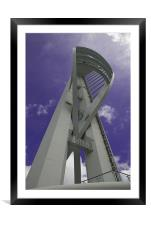 The Spinnaker Tower at Portsmouth Harbour, Framed Mounted Print