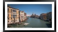 Grand Canal Venice, Framed Mounted Print
