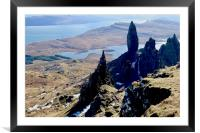 The Old Man of Storr, Isle of Skye, Scotland, Framed Mounted Print