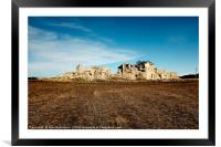 Ruins, Andalusia, Spain, Framed Mounted Print